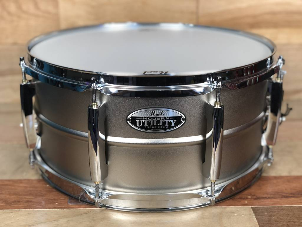 Pearl Pearl 14X6.5 Modern Utility Beaded Steel Snare