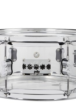 PDP PDP Chad Smith 6x12 Clear Acrylic Snare