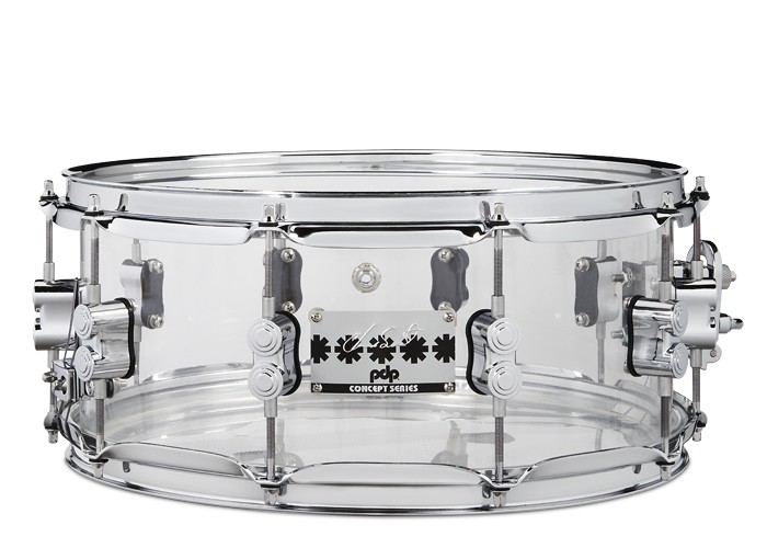 PDP PDP Chad Smith 6x14 Clear Acrylic Snare