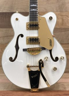 Gretsch Gretsch G5422TG Electromatic® Hollow Body With Bigsby®, Snowcrest White