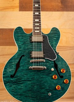 Gibson Gibson ES-335 Figured, Turquoise Stain