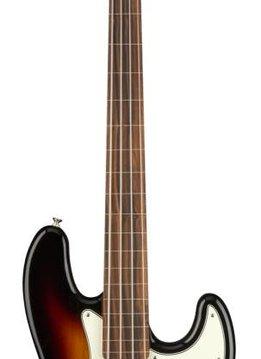 Fender Fender Player Jazz Bass® Fretless, Pau Ferro Fingerboard, 3-Color Sunburst