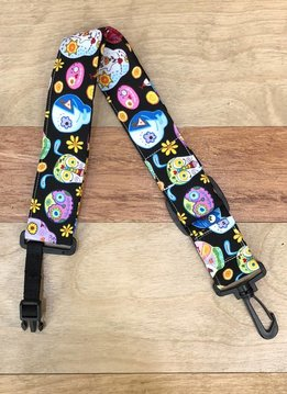 The Hug Strap The Hug Strap For Ukulele - Day of the Dead Pets