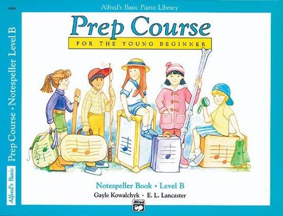 Alfred Prep Course Notespeller Level B