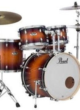 Pearl Pearl Export EXL Series 5 Piece Shell Pack w/ Hardware, Gloss Tobacco Burst