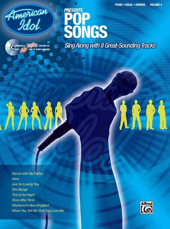 American Idol Pop Songs Book For Piano Vocal And Chords Sims Music