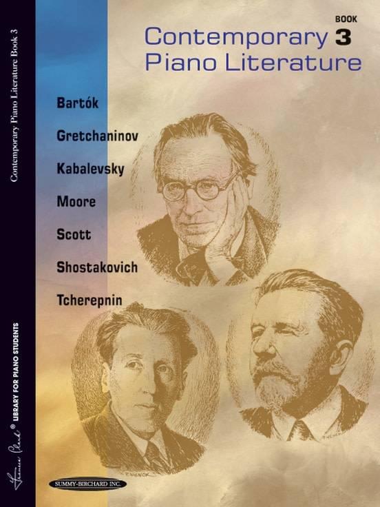Contemporary Piano Literature Book 3