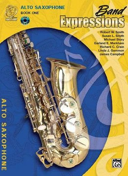 Band Expressions Tenor Sax Book 1
