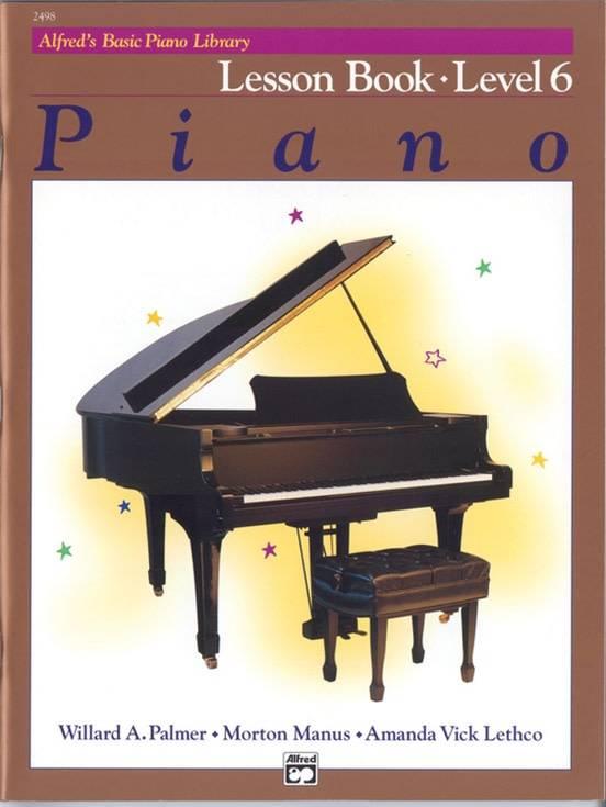 Alfrede28099s Basic Piano Lesson Book Level 6