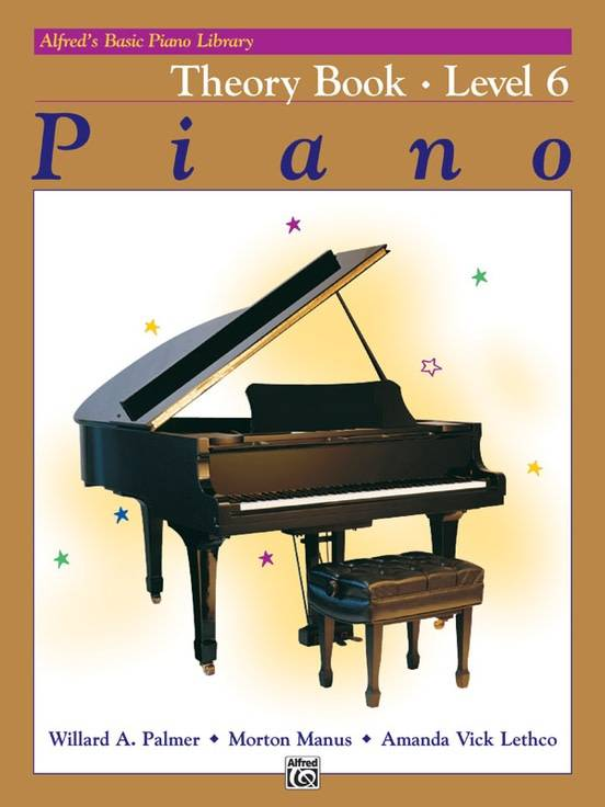 Alfred's Basic Piano Theory Book Level 6