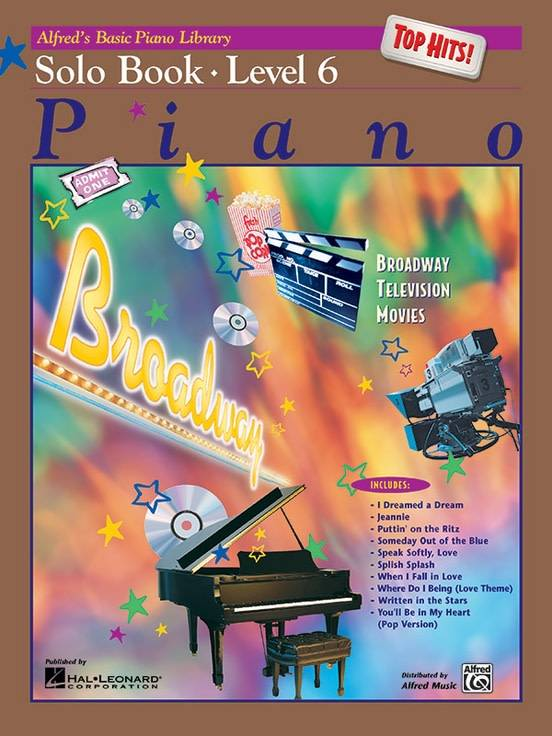 Alfrede28099s Basic Piano Solo Book Level 63a Top Hits!