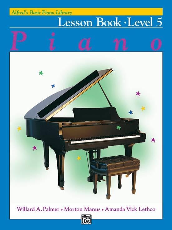 Alfred'e2'80'99s Basic Piano Lesson Book Level 5