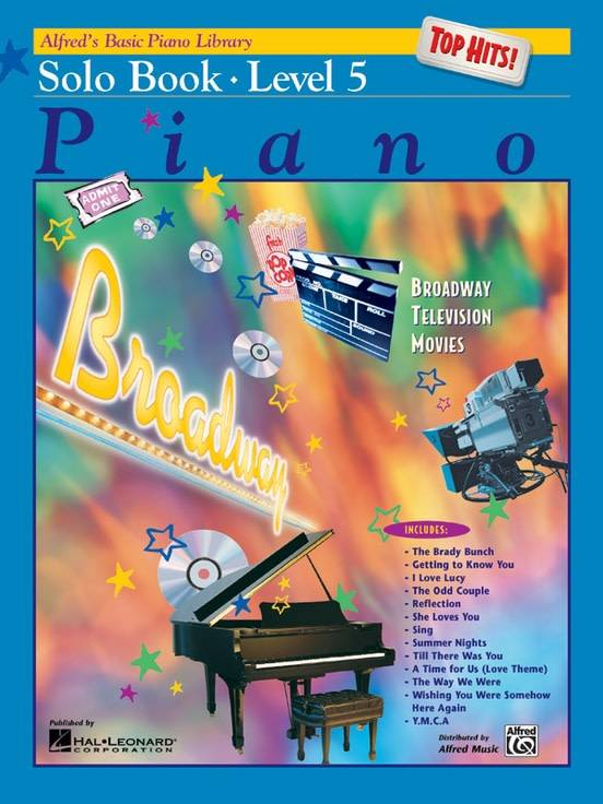 Alfrede28099s Basic Piano Solo Book Level 53a Top Hits!
