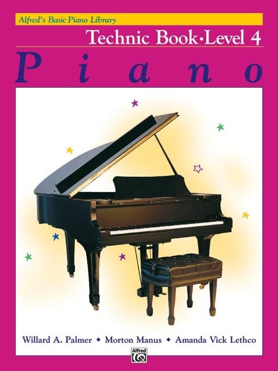 Alfred's Basic Piano Technic Book Level 4