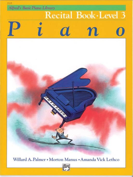 Alfred's Basic Piano Recital Book Level 3