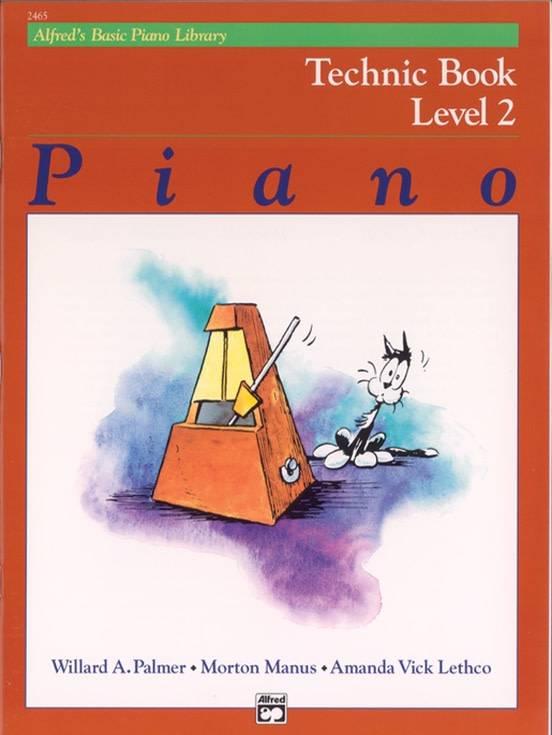 Alfrede28099s Basic Piano Technic Book Level 2