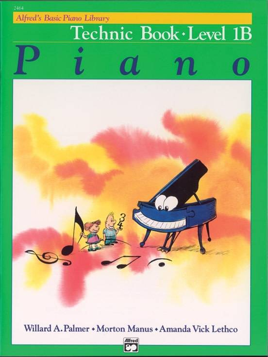 Alfrede28099s Basic Piano Technic Book Level 1B