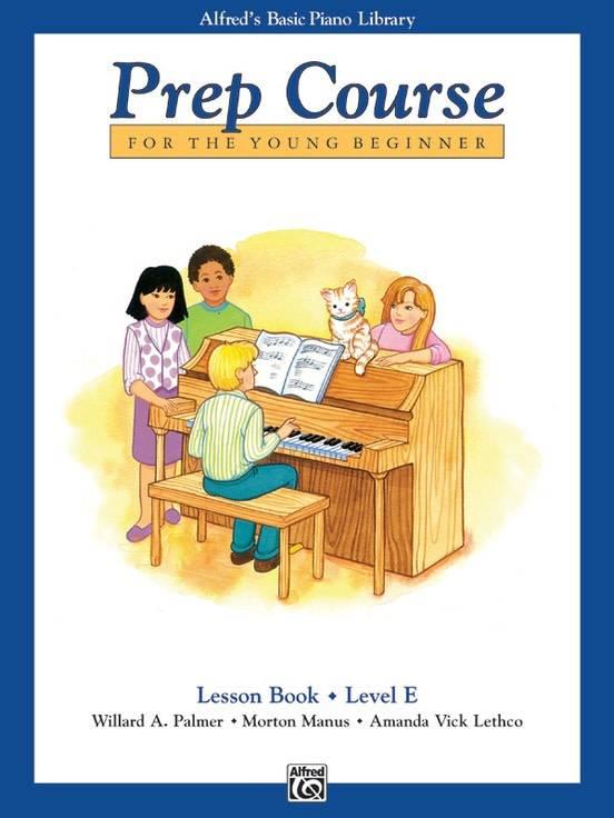 Alfred'e2'80'99s Basic Piano Lesson Book Level E