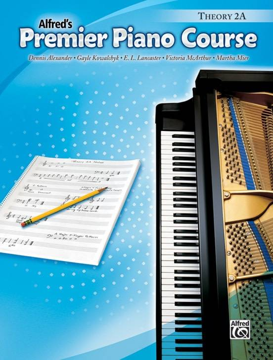 Alfred's Premier Piano Course Theory 2A
