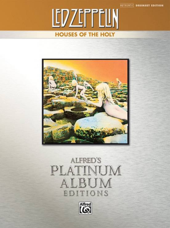 Led Zeppelin3a Houses of the Holy Drum Book