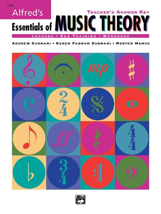 Alfred's Essentials of Music Theory Answer Key