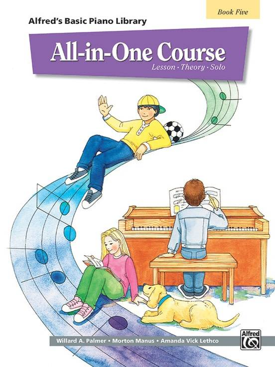 Alfred's Basic Piano All-In-One Course, Book 5
