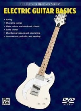 Electric Guitar Basics Book 26 DVD