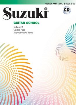 Suzuki Suzuki Guitar School Volume 2 Book 26 CD