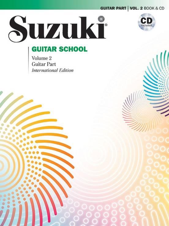 Suzuki Suzuki Guitar School Volume 2 Book 26 CD