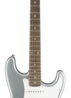 Squier Squier Affinity Series™ Stratocaster® HSS, Rosewood Fingerboard, Slick Silver