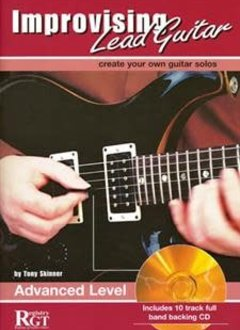 Improvising Lead Guitar Adv. Lvl w/ CD