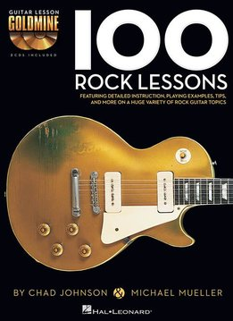 Hal Leonard Hal Leonard 100 Rock Lessons With Audio