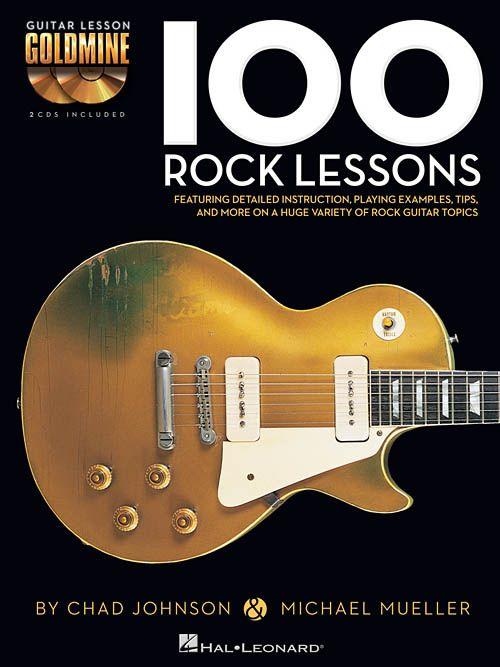 Hal Leonard Hal Leonard 100 Rock Lessons With Audio