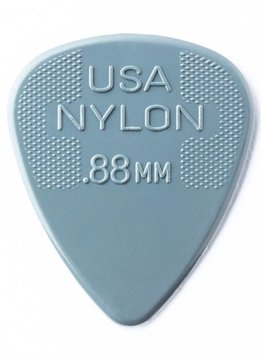 Dunlop Dunlop Nylon .88 Picks, 12-pack