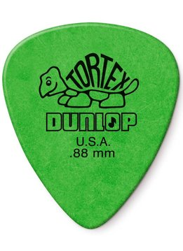 Dunlop Dunlop Standard Tortex .88 Picks, 12-Pack