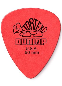 Dunlop Dunlop Standard Tortex .50 Picks, 12-Pack