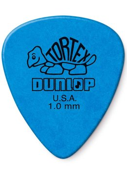 Dunlop Dunlop Standard Tortex 1.0 Picks, 12-Pack