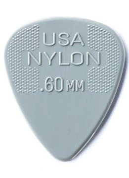 Dunlop Dunlop Nylon .60 Picks, 12-pack
