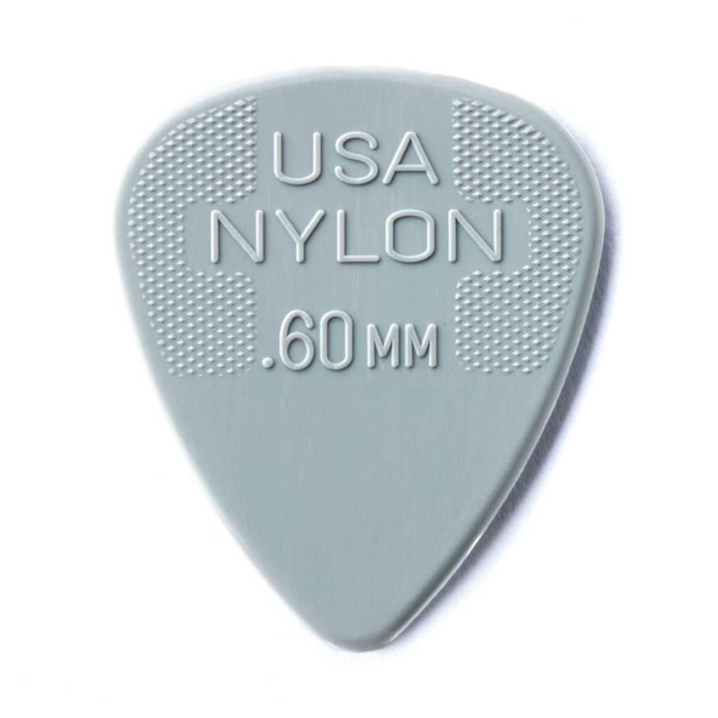 Dunlop Dunlop Nylon .60 Picks, 12-pack