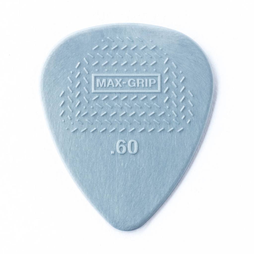 Dunlop Dunlop Max-Grip Nylon .60 Picks, 12-pack