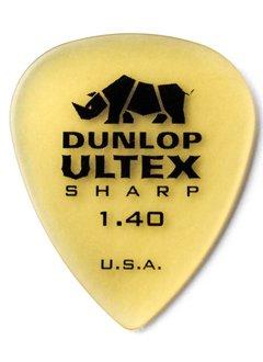 Dunlop Dunlop Ultex Sharp 1.4 Picks, 6-pack