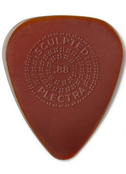 Dunlop Dunlop Primetone .88 Standard Grip Picks, 3-pack