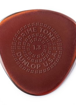 Dunlop Dunlop Primetone 1.3 Semi Round Grip Picks, 3-pack