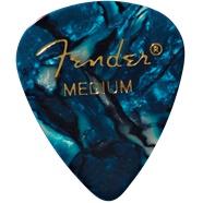 Fender Fender Ocean Turquoise Medium Picks, 12-pack