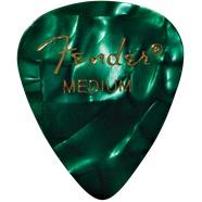 Fender Fender Green Moto Medium Picks, 12-pack