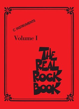 Hal Leonard The Real Rock Book Vol 1