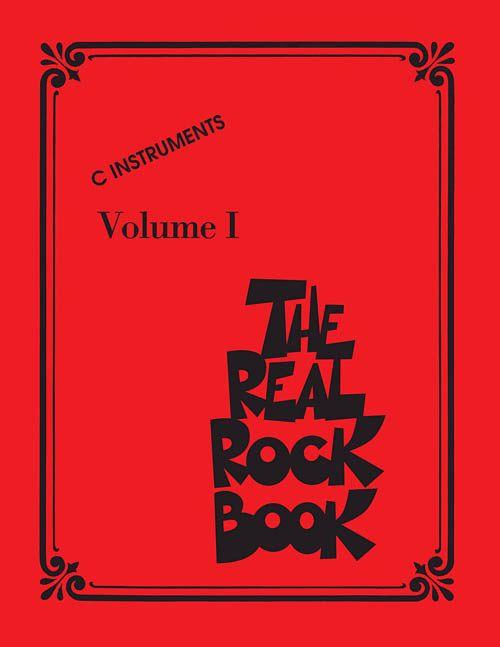 Hal Leonard The Real Rock Book Vol 1