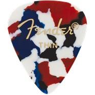 Fender Fender Confetti Thin Picks, 12-pack