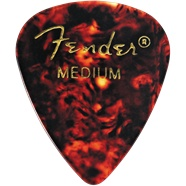 Fender Fender Classic Shell Medium Picks, 12-pack
