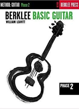 Hal Leonard Berklee Basic Guitar Phase 2